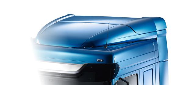 Nuevos accesorios para vehículos DAF XF, CF y LF en la tienda web de DAF