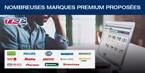 Des marques premium d'origine dans notre gamme TRP