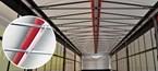 Come evitare il ghiaccio e le multe? È sufficiente utilizzare il sistema di sicurezza gonfiabile per tetto TRP!