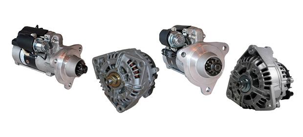 Gama de motores de arranque y alternadores TRP actualizada y ampliada