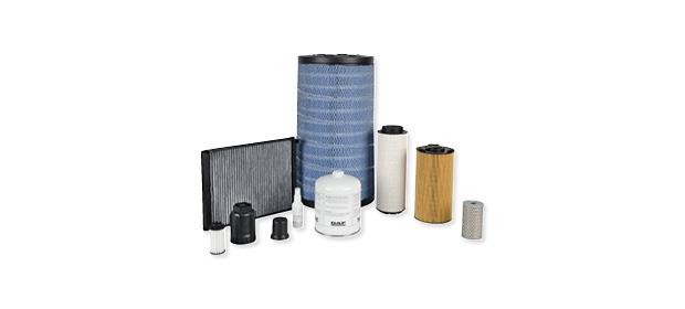 Actualización del kit de mantenimiento de filtros de DAF Euro 6